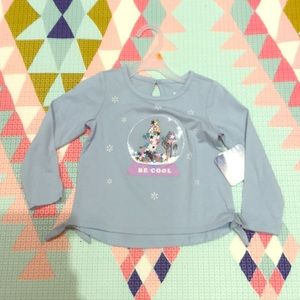 New Frozen II Toddler Girl Shirt - 3T